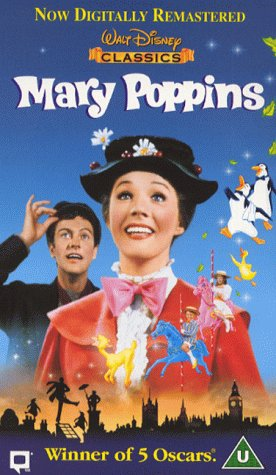 Click for larger image of Mary Poppins (1964) (Disney) [VHS] [1965]