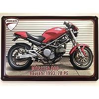 Blechschild 30 X 20 cm Ducati Supermono 1993-1997