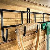 Best Garage Racks - Extra-Long Tool Rack In Black Powder Coating Review