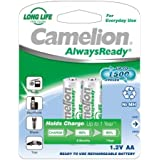 Camelion HR6 Mignon AA AlwaysReady Lot de 2 800mAh