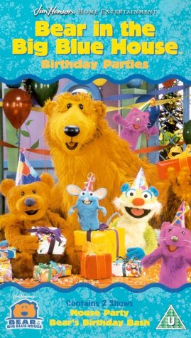 bear in the big blue house birthday parties vhs - Bear Inthe Big Blue House A Berry Bear Christmas