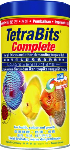 TetraBits Complete Fish Food for Aquariums, 300ml/93g