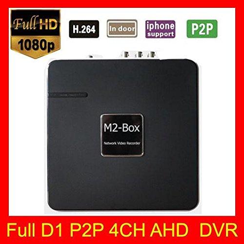M2Box Mini CCTV DVR 4Kanal Full D1P2P Cloud HDMI-Ausgang 1080P DVR System mit 500GB HDD -