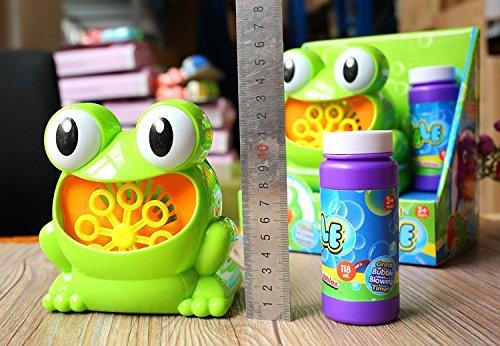 ZHJZ Automatische Big Eyes Frosch Blase Gebläse Maschine für Kinder Outdoor Spielen