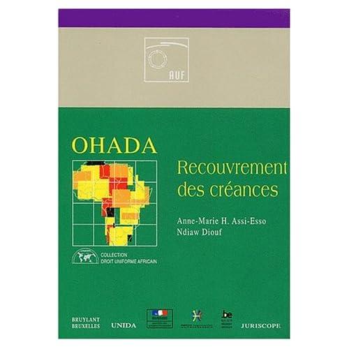 OHADA - Recouvrement de créance