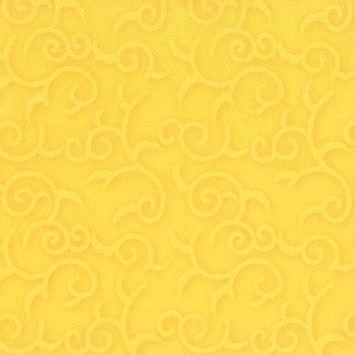 """50 Servietten \""""ROYAL Collection\"""" 1/4-Falz 40 cm x 40 cm gelb \""""Casali\"""" 84881 Papstar Premium stoffähnlich hochwertig Qualität stabil gute Faltbarkeit Dekorservietten"""