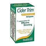 HealthAid Cider Trim - Lecithin, Apple Cider Vinegar - 90 Capsules