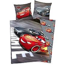 Herding Juego de cama de Disney Cars 3, algodón, gris, 200x 135cm