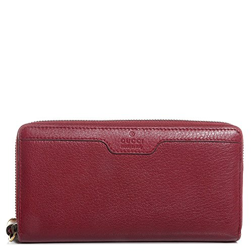 Gucci-Hip-Bamboo-Red-Deer-Leather-Zip-Around-Wallet-339178