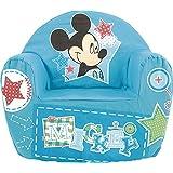 Lulabi Disney Mickey Sillón blanda, bebé, azul