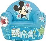 Lulabi Disney Mickey Poltrona Morbida, Bimbo, Azzurro