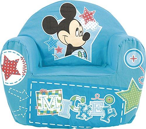 Lulabi Disney Mickey Sillón blando, bebé, azul