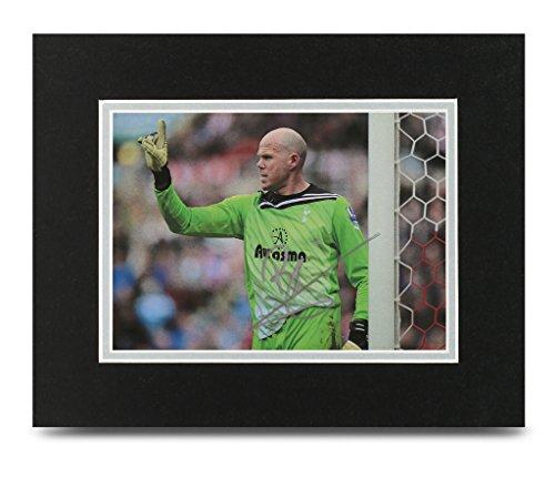 Brad-Friedel-Signed-10×8-Photo-Display-Tottenham-Autograph-Memorabilia-COA