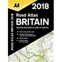 AA Road Atlas Britain 2018 (AA Road Atlas)