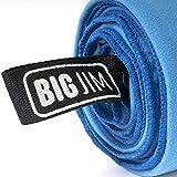 Extragroßes Mikrofaser Handtuch, schnelles Trocknen, saugfähig & kompakt für das Fitnessstudio, Schwimmen, Reisen & Mehr 180 x 90 cm – Big Jim - 6