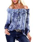 Batik Tunika Caochella Carmen Volant Off Shoulder S/M