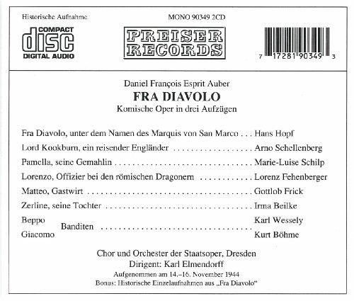 Daniel F.E. Auber : Fra Diavolo