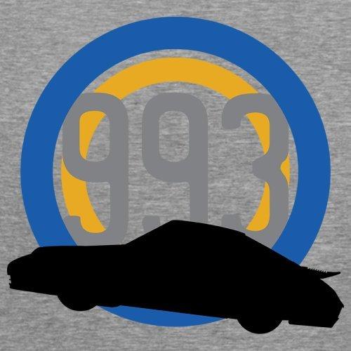 77ee77c9572393 Porsche 993 Silhouette - Damen T-Shirt - 14 Farben Sportlich Grau ...