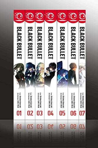 Black Bullet - Light Novel, Bände 1 bis 7