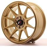 Japan Racing Jr11 Gold 7x16 ET25 4x100/108 Llantas de aleación