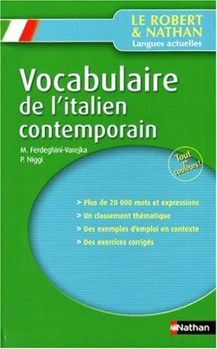 Vocabulaire de l'italien contemporain