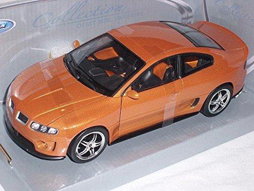 pontiac-gto-ram-air-6-orange-coupe-2003-2006-1-24-welly-modell-auto