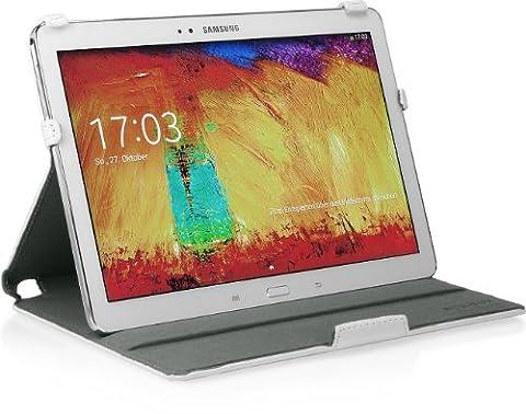 StilGut UltraSlim Case, Tasche mit Stand- und Präsentationsfunktion für Samsung Galaxy Note 10.1 2014 Edition,