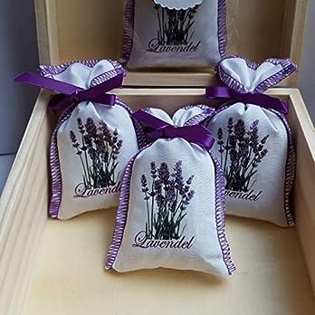 5 Lavendelsäckchen Lavendel Gastgeschenke Hochzeit Duftsäckchen