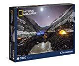 Clementoni 39310 - Champ Omn the Nepal Side of Everest National Geographic Puzzle, 1000 Pezzi