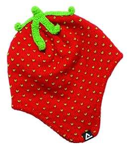 Dare2b Sweet Dreams Girls Fleece Lined Beanie (Hat) (Red Alert, Age 7-10)