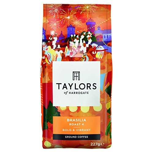 Taylors of Harrogate Cafe Brasilia Rich Roast Ground Coffee 227 g 51ZChFr0CiL