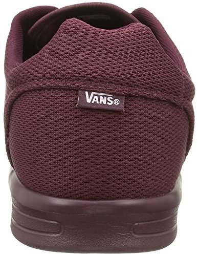 Vans Iso 1.5, Baskets Basses Mixte Adulte Rouge (Mono Port Royale)