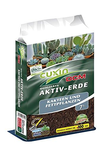 Cuxin Kakteenerde 7 L ● mineralische Bio Erde für Kakteen, Blumenerde für Sukkulenten und Aloe Vera (Kakteenerde, 7 L)