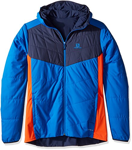 Salomon Herren Drifter Mid Jacket Brilliant Blue
