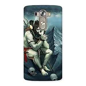 Impressive Shiva Multicolor Back Case Cover for LG G3