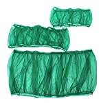 UEETEK Bird Cage Skirt Mesh Bird Cage Seed Catcher Guard Net Cover Green Size S 7