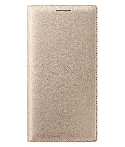 Mobiclonics Flip Case Cover for Samsung Galaxy Grand 2 - Golden