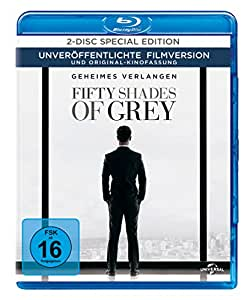 Fifty Shades of Grey - Geheimes Verlangen (+ Bonus-DVD) [Blu-ray]