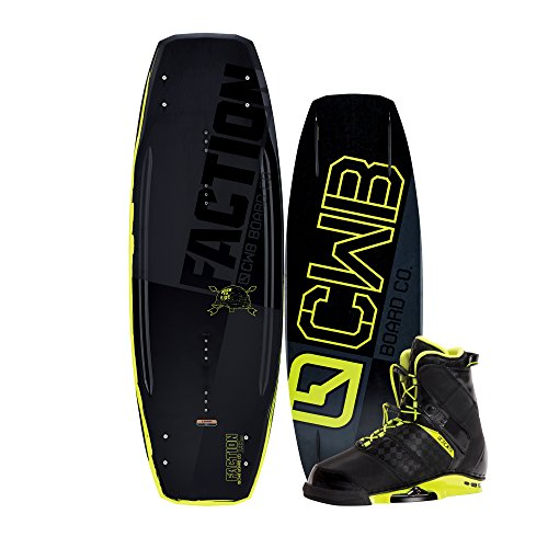 CWB Board CO. Herren-/CWB FACTION 138 Wakeboard mit Faction Boots (Faction Boots)