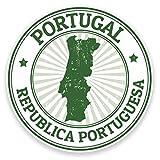 2 x 10cm/100 mm Portugal Autocollant de fenêtre en verre Voiture Van Locations #9293