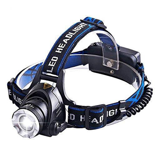 Preisvergleich Produktbild YUANP Wiederaufladbare Scheinwerfer, Wasserdichte LED-Scheinwerfer, Freilichtscheinwerfern/Fackeln/Jagen/Wandern/Camping/Angeln/Lesen/Laufen/Radfahren,A