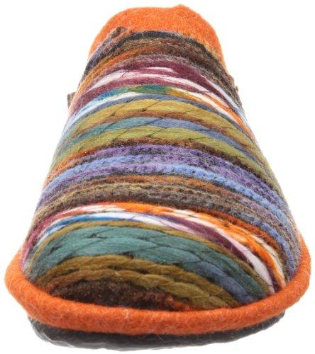 Romika Mikado 66, Chaussons femme Multicolore - Mehrfarbig (orange-bunt 837)