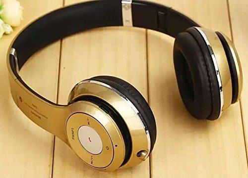 wireless bluetooth 3.0 stereo della s500 cuffia auricolare per telefono cellulare (oro)