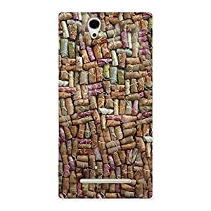 Enticing Bullet Bomb Back Case Cover for Sony Xperia C3
