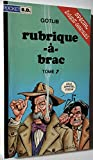 RUBRIQUE-A-BRAC. Tome 7