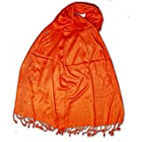 PSS Branded Orange Color - Summer Scarf Soft Cotton Trendy Scarves, Stoles,Scarf for Women and Girls …