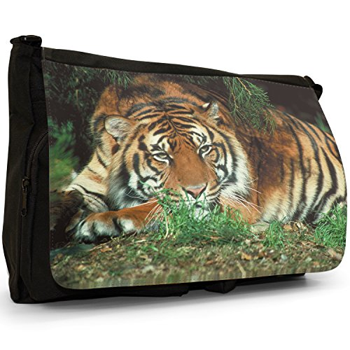 Fancy A Bag Borsa Messenger nero Tiger Tiger