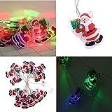 TianranRT Lampe de Noël à 16 LED pour intérieur et extérieur 300 cm