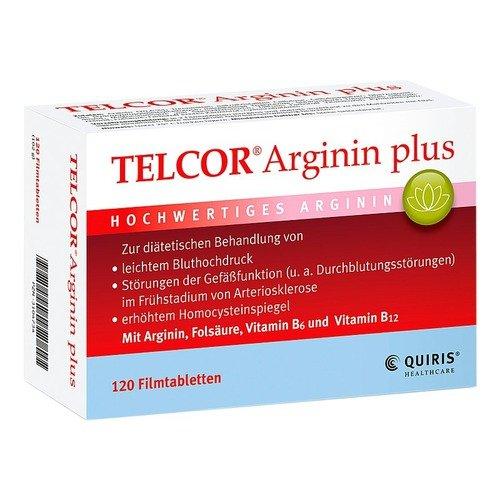 Telcor Arginin plus Filmt 120 stk