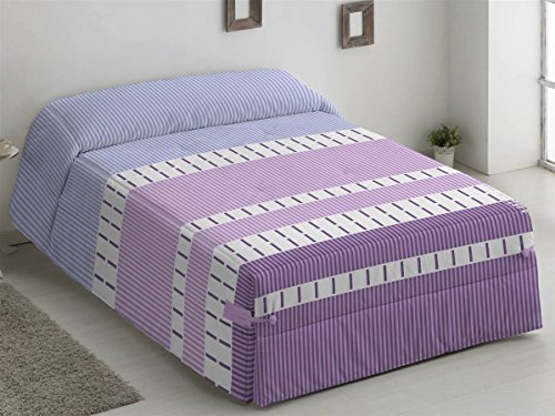Camatex - Conforter Alaska Cama 90 - Color Gris edredón